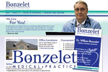 Bonzelet.com - Design Package