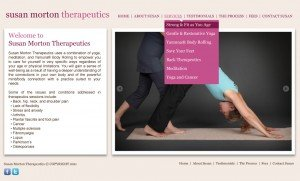Custom WordPress Design - Yoga Therapy NJ