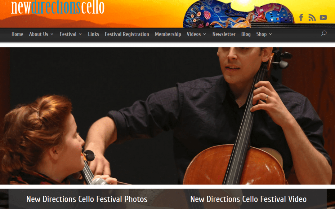 Just launched – Drupal to WordPress Conversion – New Directions Cello