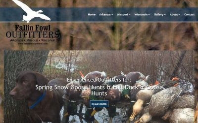 WordPress Design Project – Fallin Fowl Outfitters