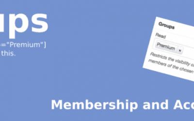 WordPress Plugins – Groups